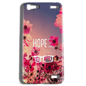 Vivo V1 Max Mobile Covers Cases Hope in the Things Unseen- Lowest Price - Paybydaddy.com