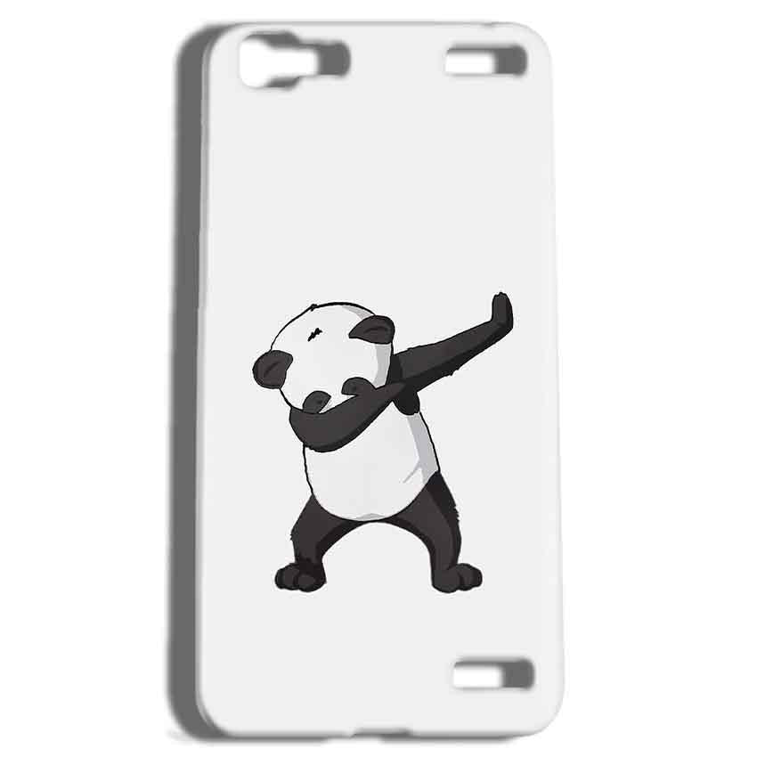 Vivo V1 Max Mobile Covers Cases Panda Dab - Lowest Price - Paybydaddy.com