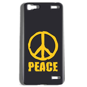 Vivo V1 Max Mobile Covers Cases Peace Blue Yellow - Lowest Price - Paybydaddy.com