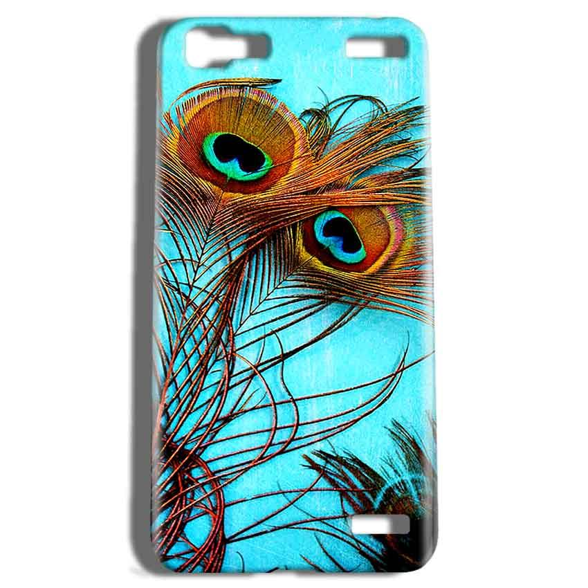 Vivo V1 Max Mobile Covers Cases Peacock blue wings - Lowest Price - Paybydaddy.com