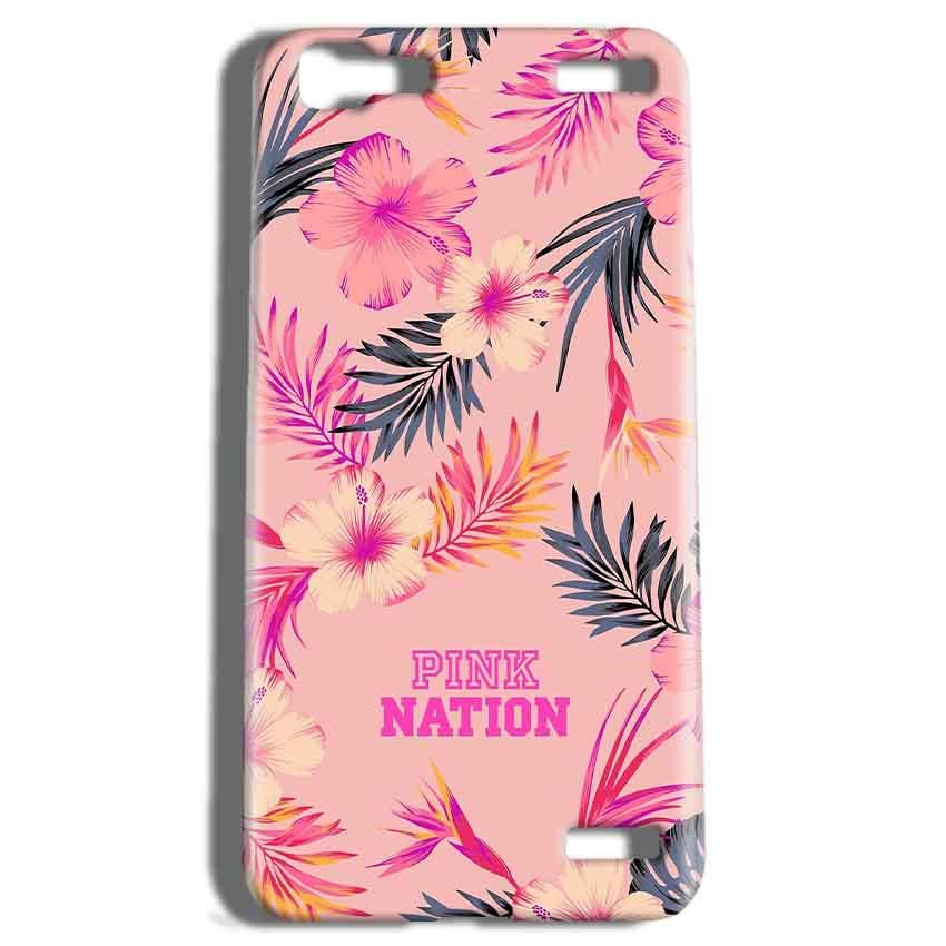 Vivo V1 Max Mobile Covers Cases Pink nation - Lowest Price - Paybydaddy.com