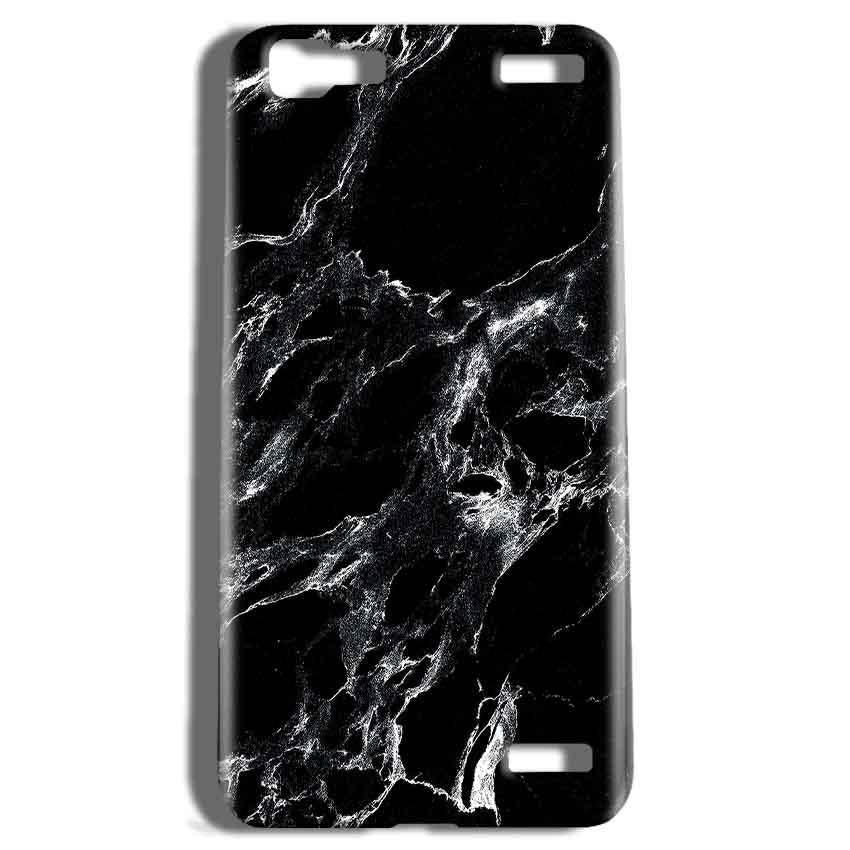Vivo V1 Max Mobile Covers Cases Pure Black Marble Texture - Lowest Price - Paybydaddy.com
