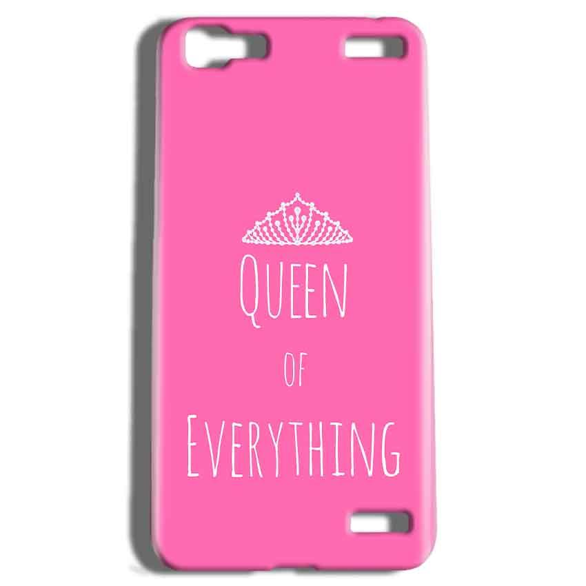 Vivo V1 Max Mobile Covers Cases Queen Of Everything Pink White - Lowest Price - Paybydaddy.com