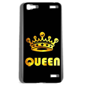 Vivo V1 Max Mobile Covers Cases Queen With Crown in gold - Lowest Price - Paybydaddy.com