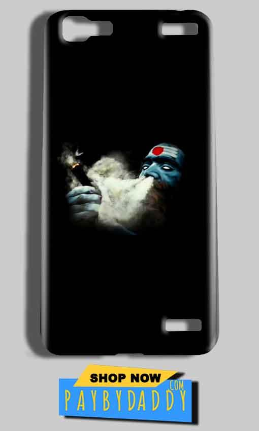 Vivo V1 Max Mobile Covers Cases Shiva Aghori Smoking - Lowest Price - Paybydaddy.com