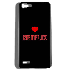 Vivo V1 Mobile Covers Cases NETFLIX WITH HEART - Lowest Price - Paybydaddy.com