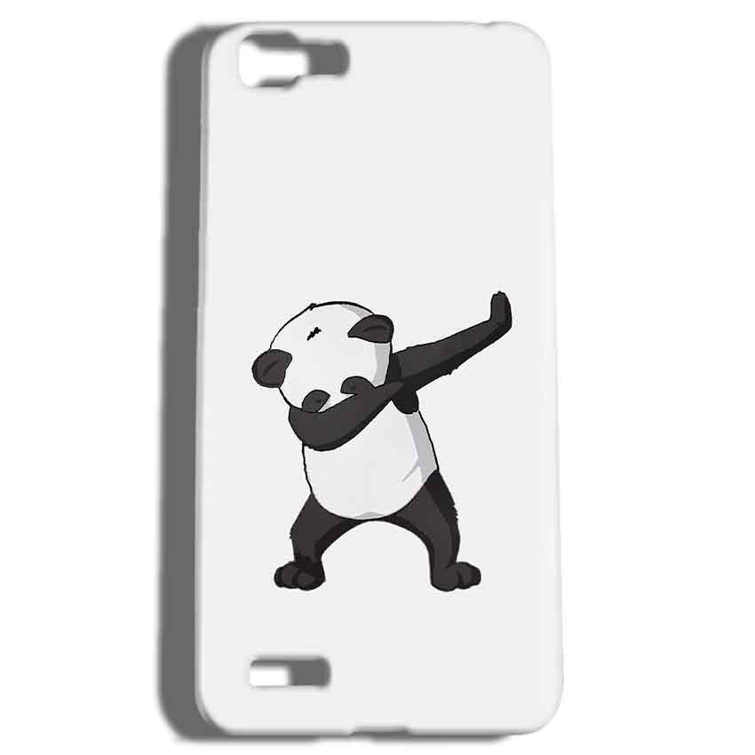 Vivo V1 Mobile Covers Cases Panda Dab - Lowest Price - Paybydaddy.com
