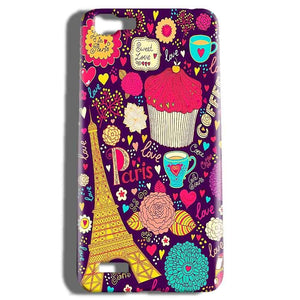 Vivo V1 Mobile Covers Cases Paris Sweet love - Lowest Price - Paybydaddy.com