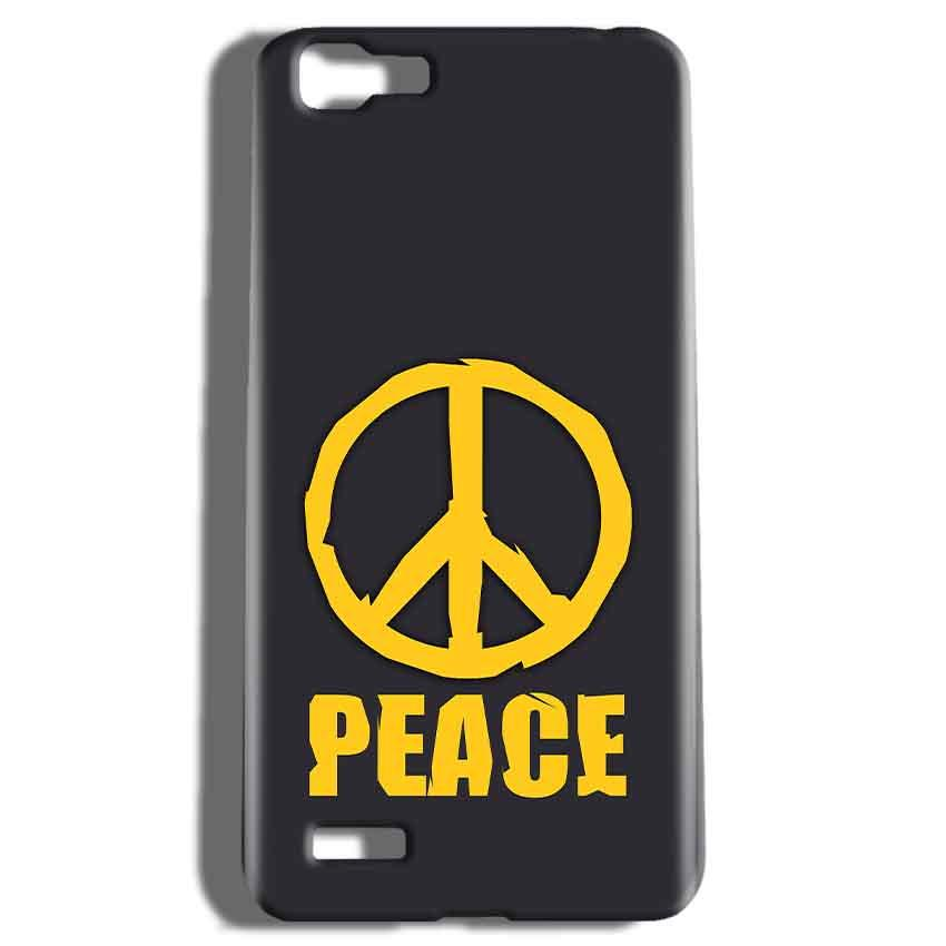 Vivo V1 Mobile Covers Cases Peace Blue Yellow - Lowest Price - Paybydaddy.com