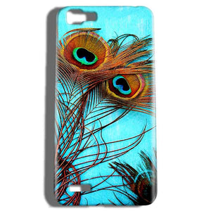 Vivo V1 Mobile Covers Cases Peacock blue wings - Lowest Price - Paybydaddy.com