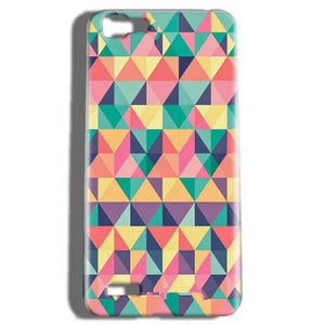 Vivo V1 Mobile Covers Cases Prisma coloured design - Lowest Price - Paybydaddy.com