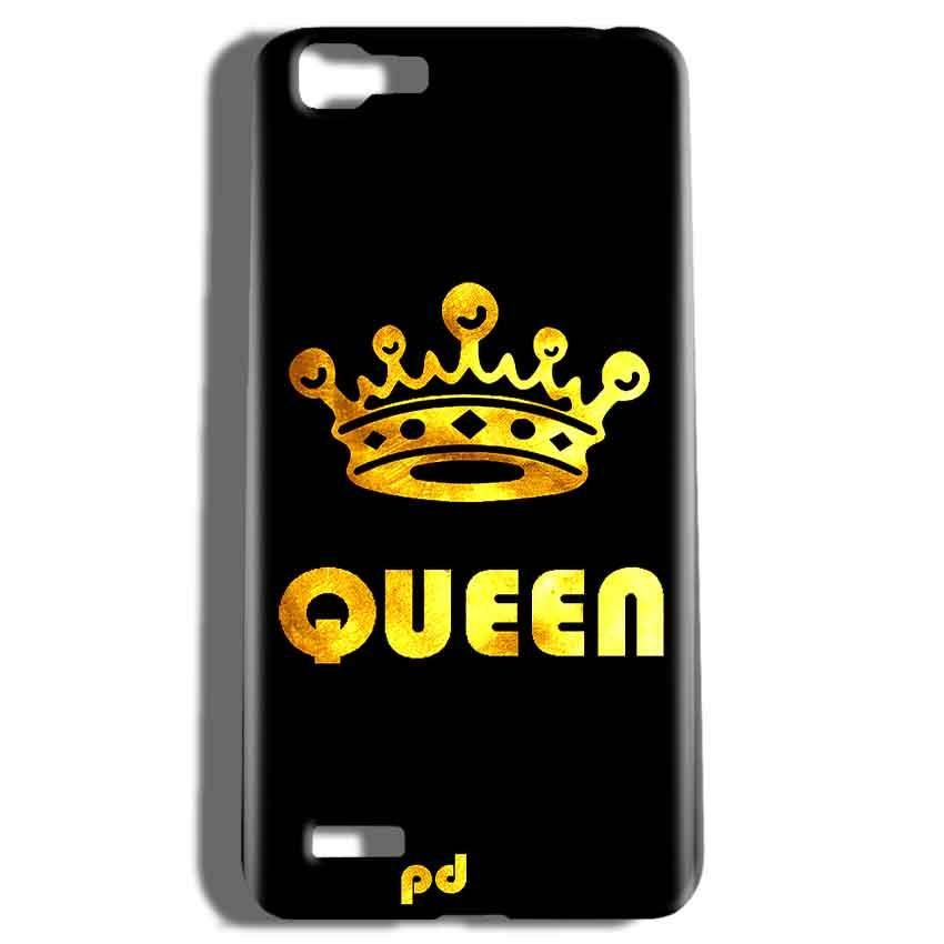 Vivo V1 Mobile Covers Cases Queen With Crown in gold - Lowest Price - Paybydaddy.com