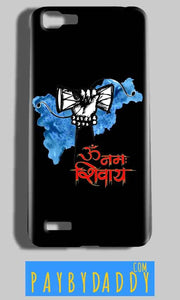 Vivo V1 Mobile Covers Cases om namha shivaye with damru - Lowest Price - Paybydaddy.com