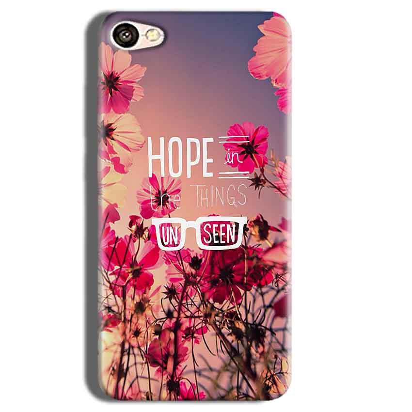 Vivo Y55L Mobile Covers Cases Hope in the Things Unseen- Lowest Price - Paybydaddy.com