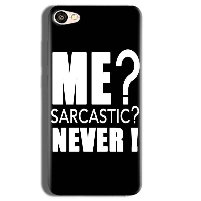 Vivo Y55L Mobile Covers Cases Me sarcastic - Lowest Price - Paybydaddy.com
