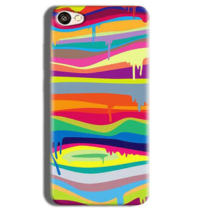 Vivo Y55L Mobile Covers Cases Melted colours - Lowest Price - Paybydaddy.com