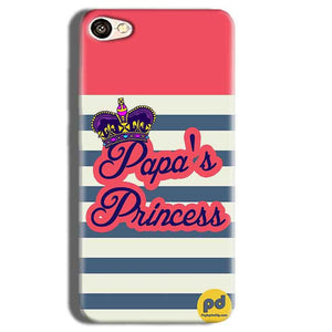 Vivo Y55L Mobile Covers Cases Papas Princess - Lowest Price - Paybydaddy.com