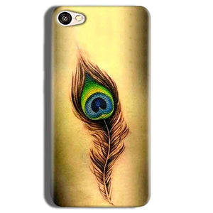 Vivo Y55L Mobile Covers Cases Peacock coloured art - Lowest Price - Paybydaddy.com