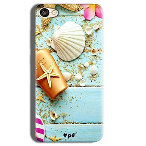 Vivo Y55L Mobile Covers Cases Pearl Star Fish - Lowest Price - Paybydaddy.com