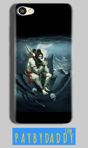 Vivo Y55L Mobile Covers Cases Shiva Smoking - Lowest Price - Paybydaddy.com