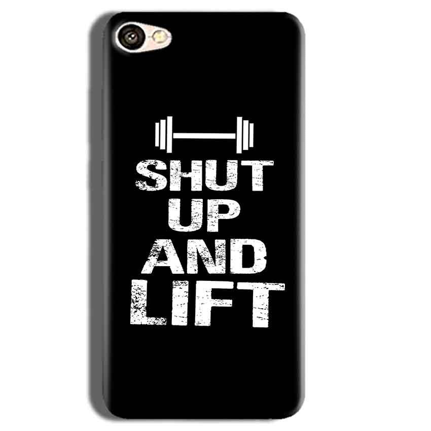 Vivo Y55L Mobile Covers Cases Shut Up And Lift - Lowest Price - Paybydaddy.com