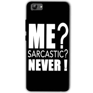 Vivo Y71 Mobile Covers Cases Me sarcastic - Lowest Price - Paybydaddy.com