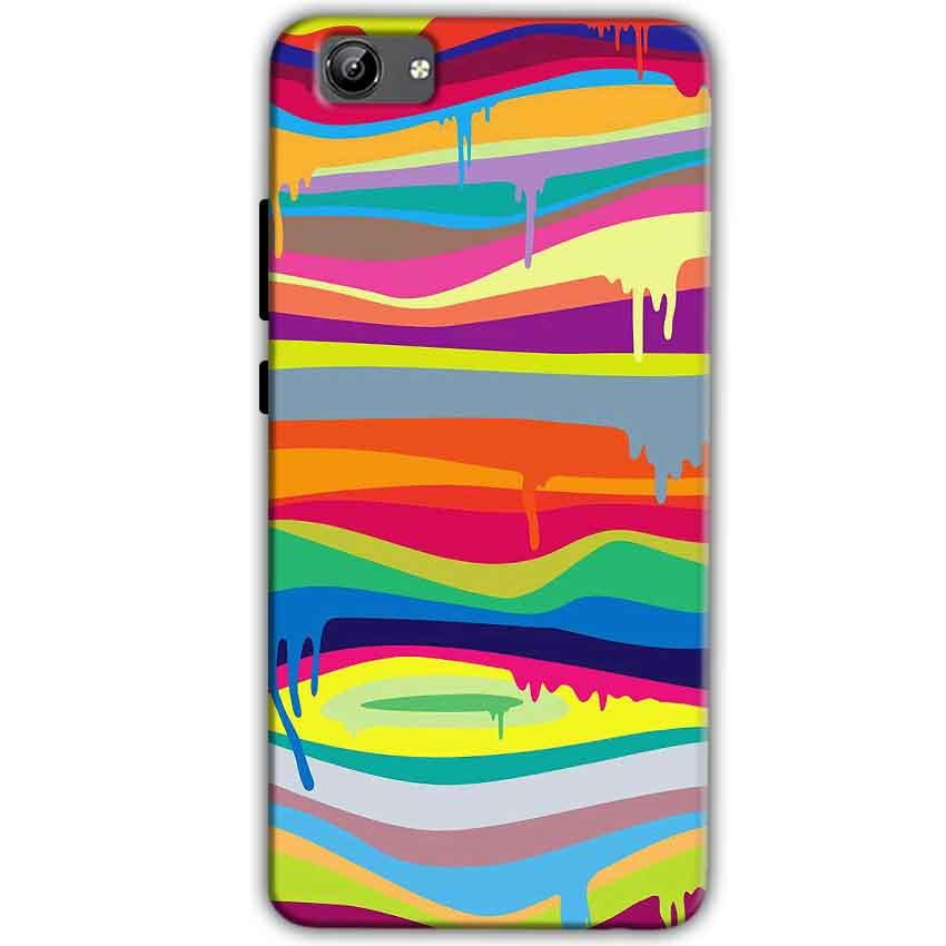 Vivo Y71 Mobile Covers Cases Melted colours - Lowest Price - Paybydaddy.com