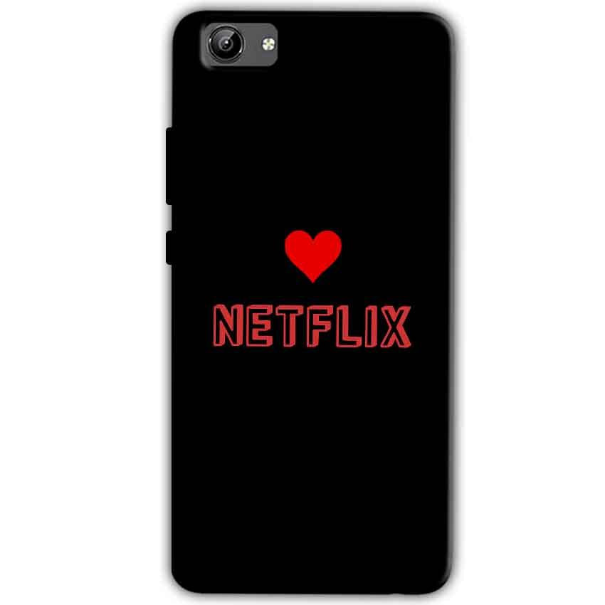 Vivo Y71 Mobile Covers Cases NETFLIX WITH HEART - Lowest Price - Paybydaddy.com