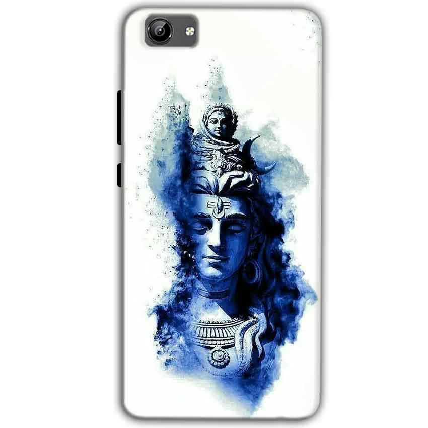 Vivo Y71 Mobile Covers Cases Shiva Blue White - Lowest Price - Paybydaddy.com