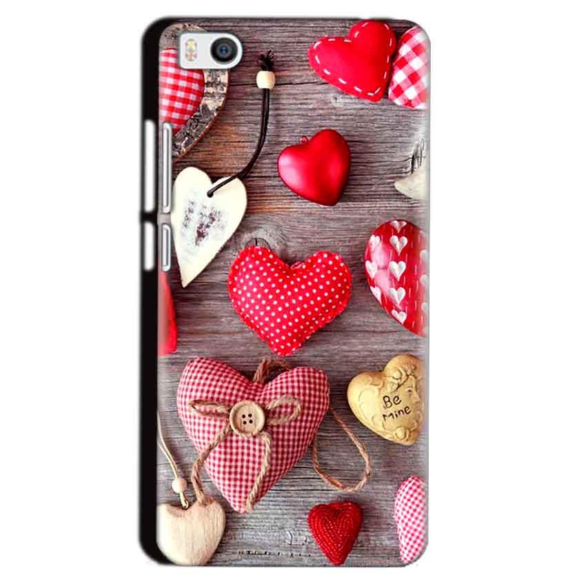 Xiaomi Mi5 Mobile Covers Cases Hearts- Lowest Price - Paybydaddy.com