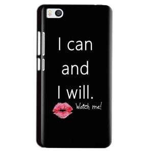 Xiaomi Mi5 Mobile Covers Cases i can and i will Lips - Lowest Price - Paybydaddy.com