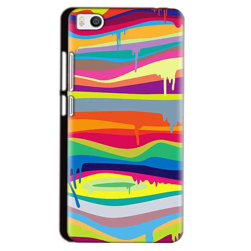 Xiaomi Mi5 Mobile Covers Cases Melted colours - Lowest Price - Paybydaddy.com