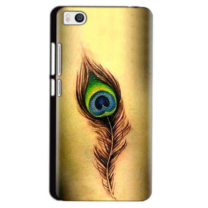 Xiaomi Mi5 Mobile Covers Cases Peacock coloured art - Lowest Price - Paybydaddy.com