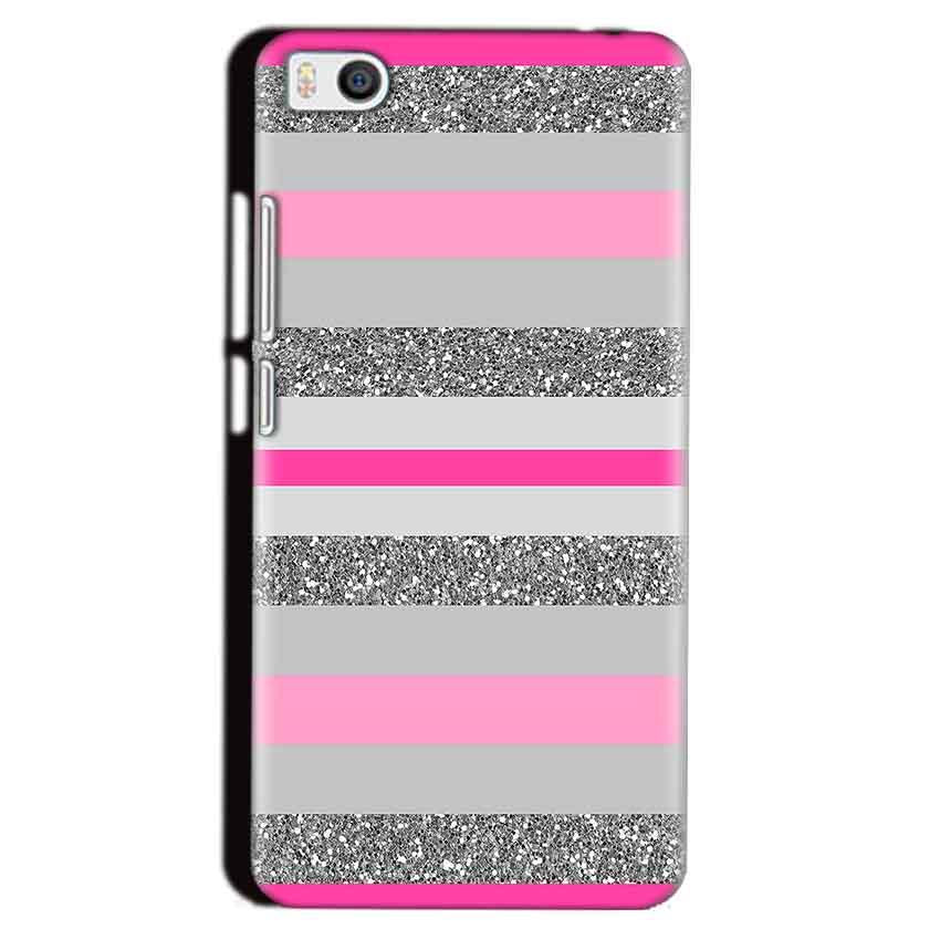 Xiaomi Mi5 Mobile Covers Cases Pink colour pattern - Lowest Price - Paybydaddy.com