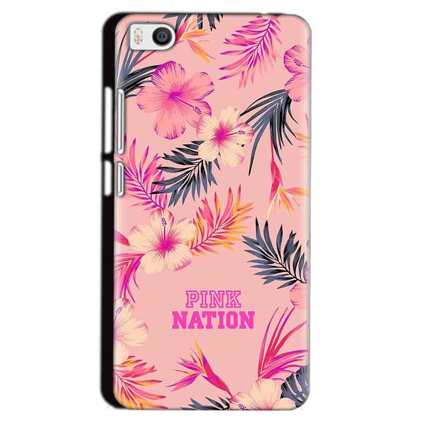 Xiaomi Mi5 Mobile Covers Cases Pink nation - Lowest Price - Paybydaddy.com