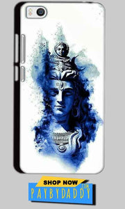Xiaomi Mi5 Mobile Covers Cases Shiva Blue White - Lowest Price - Paybydaddy.com