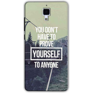 Xiaomi Mi 4 Mobile Covers Cases Donot Prove yourself - Lowest Price - Paybydaddy.com
