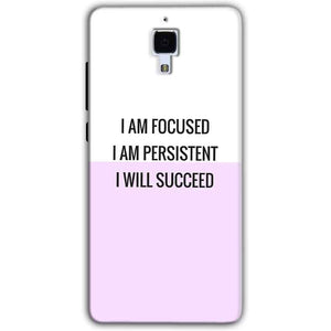 Xiaomi Mi 4 Mobile Covers Cases I am Focused - Lowest Price - Paybydaddy.com