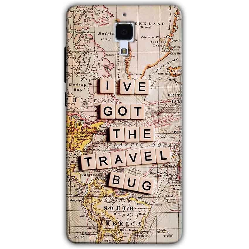 Xiaomi Mi 4 Mobile Covers Cases Live Travel Bug - Lowest Price - Paybydaddy.com