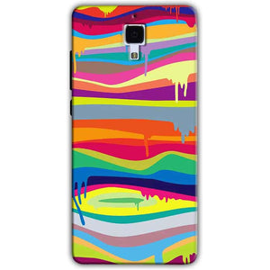 Xiaomi Mi 4 Mobile Covers Cases Melted colours - Lowest Price - Paybydaddy.com