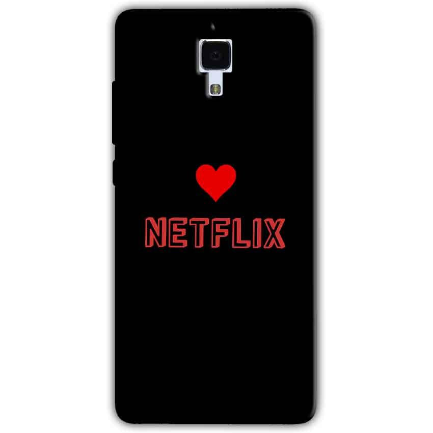 Xiaomi Mi 4 Mobile Covers Cases NETFLIX WITH HEART - Lowest Price - Paybydaddy.com