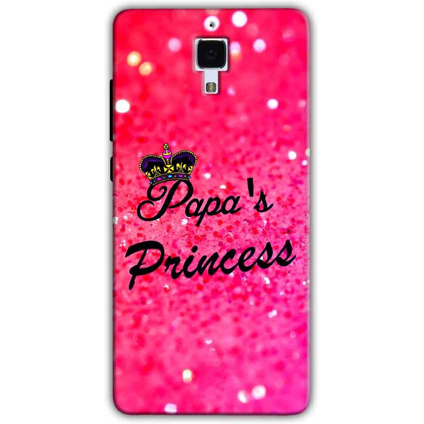 Xiaomi Mi 4 Mobile Covers Cases PAPA PRINCESS - Lowest Price - Paybydaddy.com