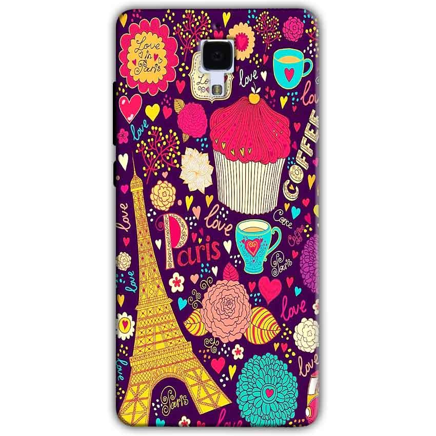 Xiaomi Mi 4 Mobile Covers Cases Paris Sweet love - Lowest Price - Paybydaddy.com