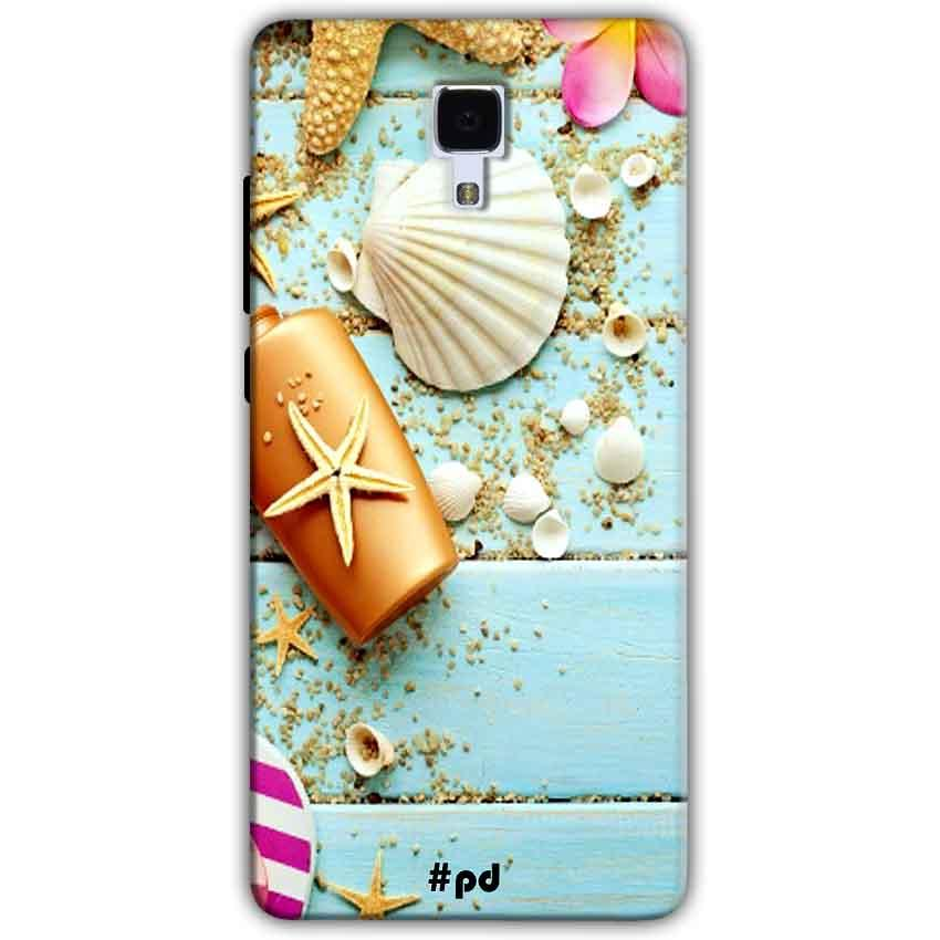 Xiaomi Mi 4 Mobile Covers Cases Pearl Star Fish - Lowest Price - Paybydaddy.com