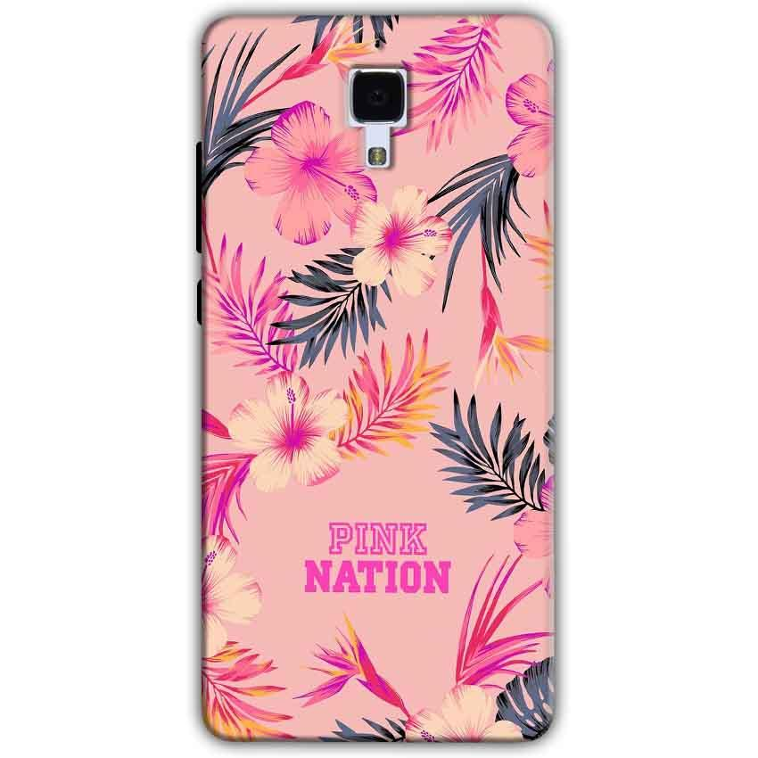 Xiaomi Mi 4 Mobile Covers Cases Pink nation - Lowest Price - Paybydaddy.com