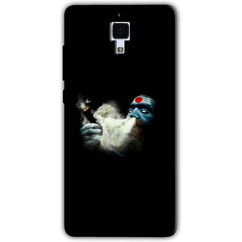 Xiaomi Mi 4 Mobile Covers Cases Shiva Aghori Smoking - Lowest Price - Paybydaddy.com