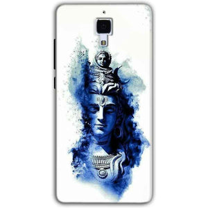 Xiaomi Mi 4 Mobile Covers Cases Shiva Blue White - Lowest Price - Paybydaddy.com