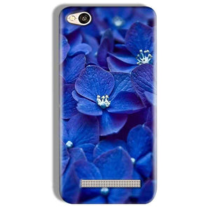 Xiaomi Redmi 4A Mobile Covers Cases Blue flower - Lowest Price - Paybydaddy.com