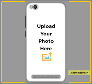 Customized Xiaomi Redmi 5A Mobile Phone Covers & Back Covers with your Text & Photo
