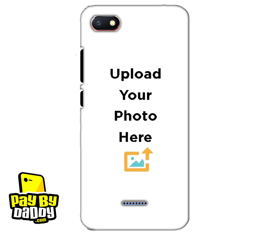 Customized Xiaomi Redmi 6A Mobile Phone Covers & Back Covers with your Photo & Text